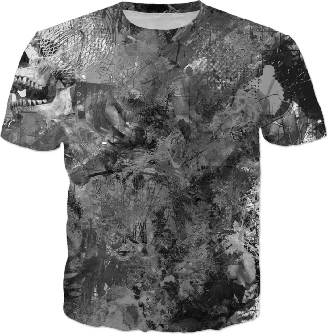 T-shirts Abstract Collection Skull97