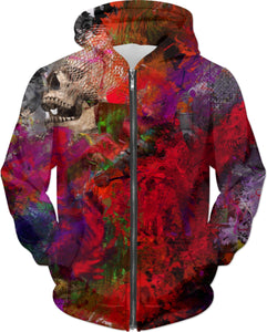 Hoodies Abstract Collection Skull