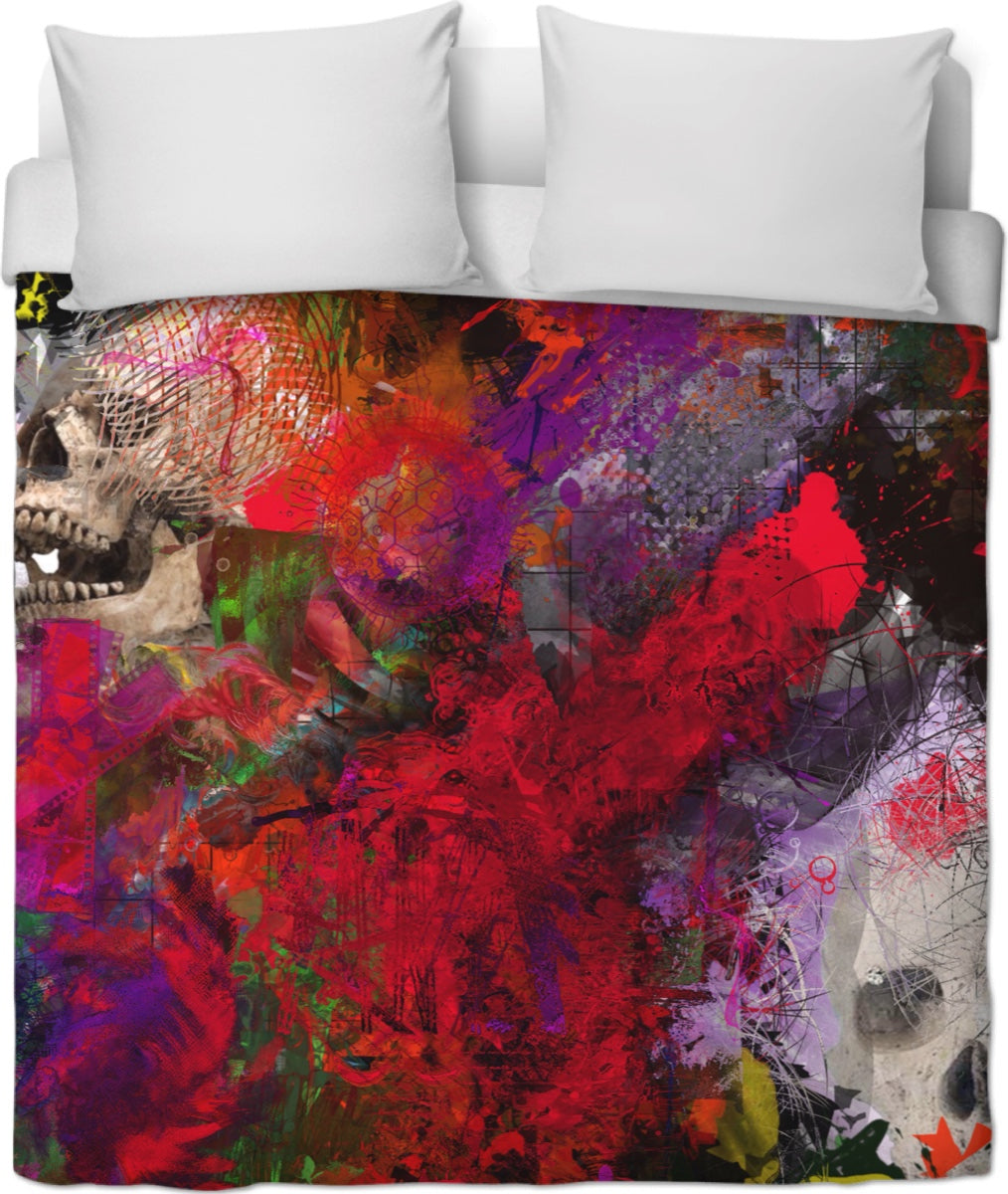 Duvet covers Abstract Collection Skull