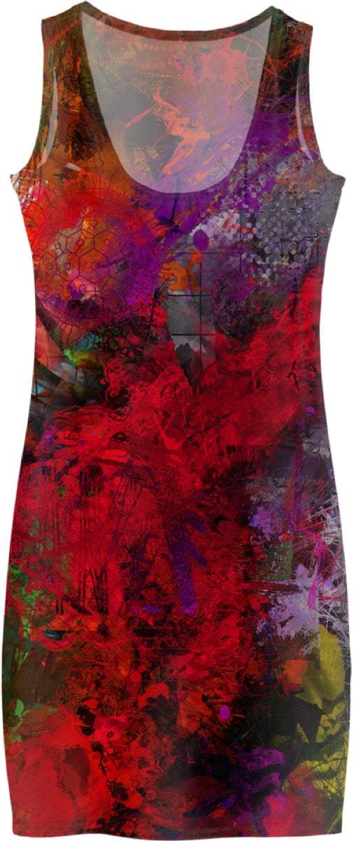 Women's Simple Dresses Abstract Collection Skull38