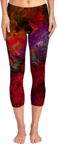 Yoga pants Abstract Collection Skull