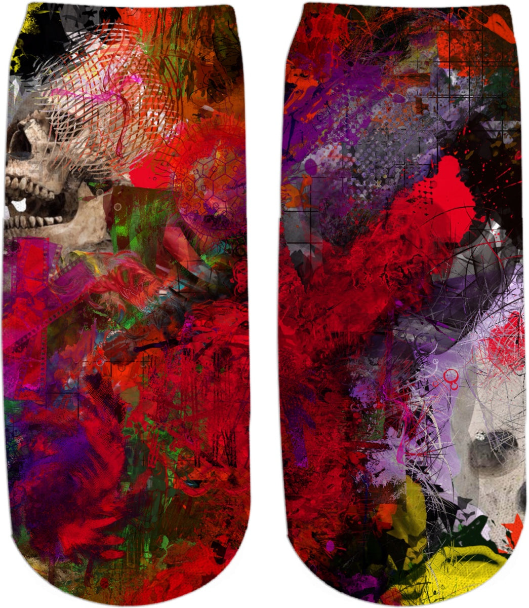 Ankle socks Abstract Collection Skull