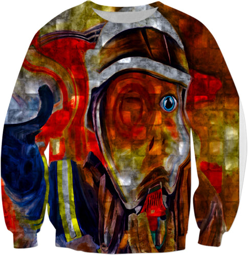 Sweatshirts Fireman Collection Abstract