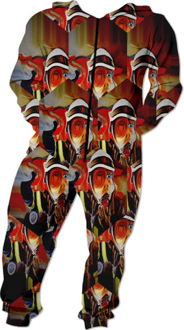 Onesies Fireman Collection Abstract
