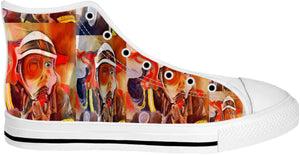 High Top Shoes Fireman Collection Abstract48