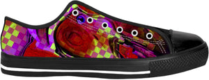Low Top Shoes Fireman Collection Abstract