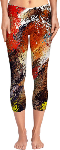 Yoga pants Fireman Collection Abstract