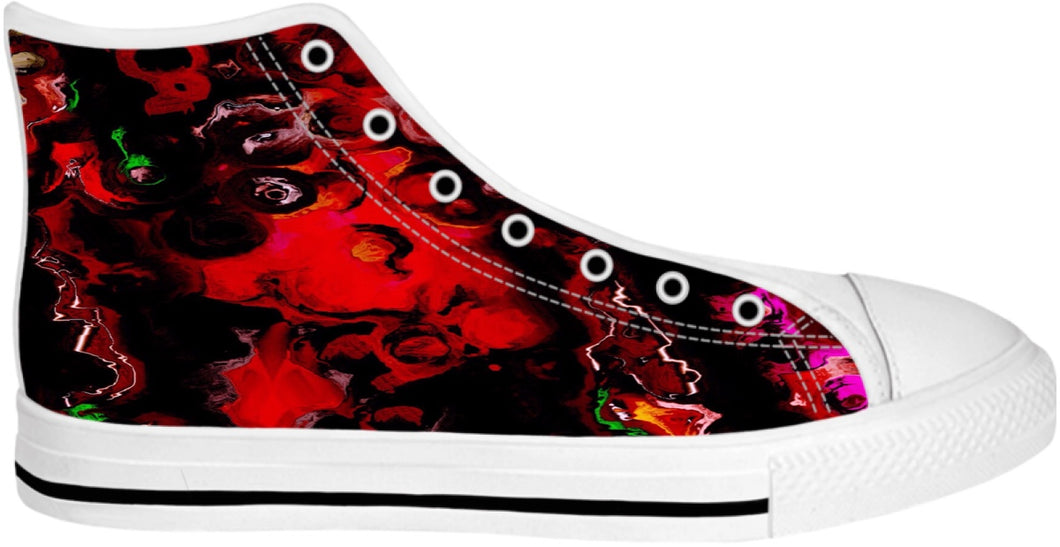 High Top Shoes Abstract Collection13