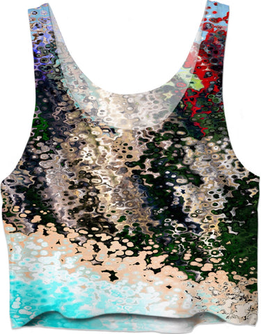 Crop Tops Abstract Collection19