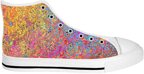 High Top Shoes Abstract Collection14