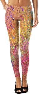 Leggings Abstract Collection9pastel