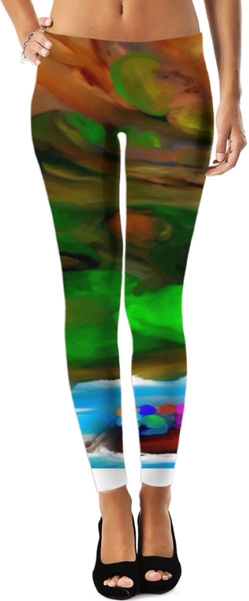 Leggings Abstract Collection Rafting