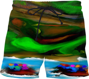Swim shorts Abstract Collection Rafting