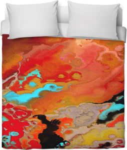 Duvet covers Abstract Collection Motorcycle Lady