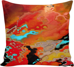 Couch pillows Abstract Collection Motorcycle Lady