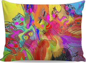 Pillow cases Abstract Painting Collection 55Female Power