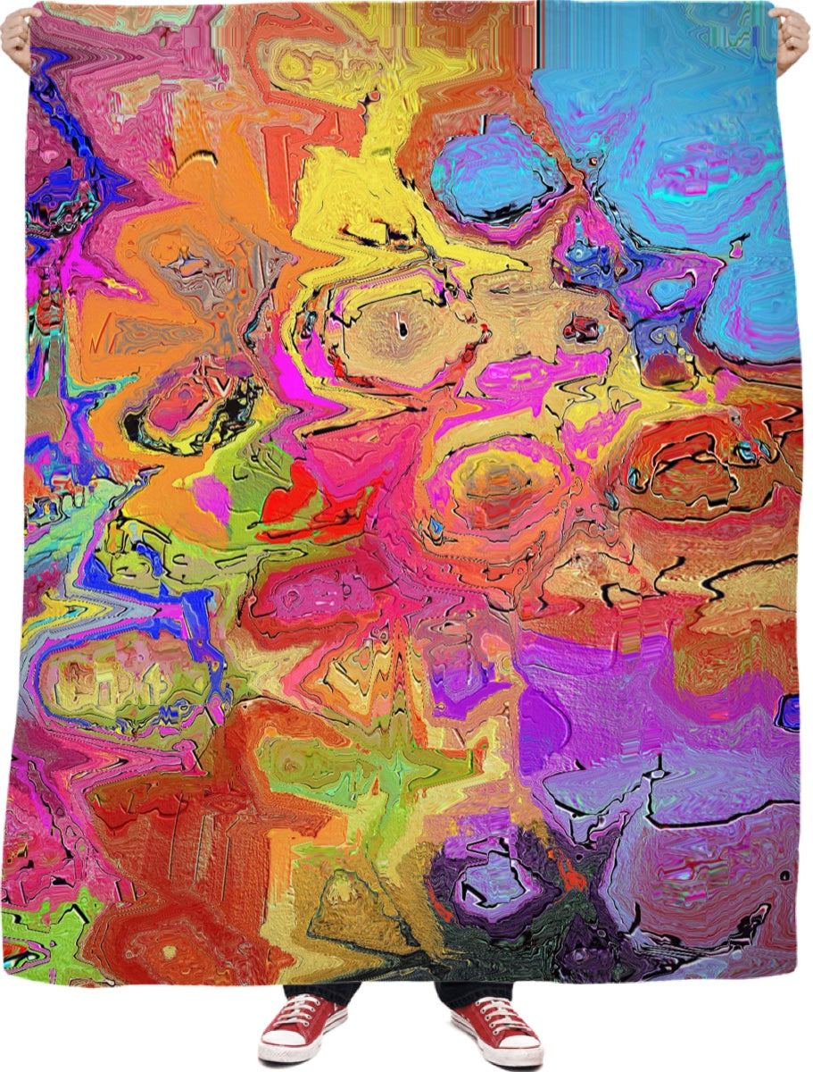 Blanket Abstract Painting Collection