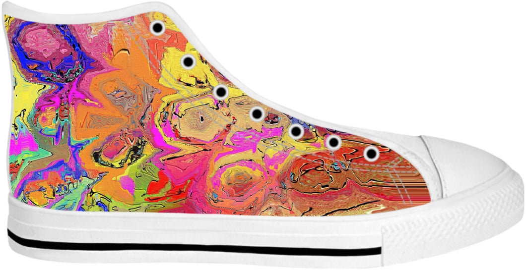 High Top Shoes Abstract Painting Collection46