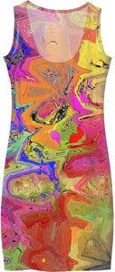 Women's Simple Dresses Abstract Painting Collection41