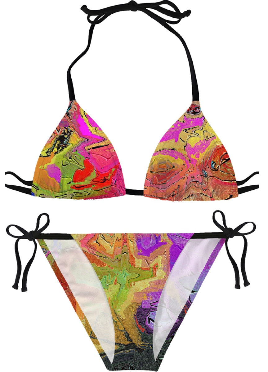 Bikinis Abstract Painting Collection