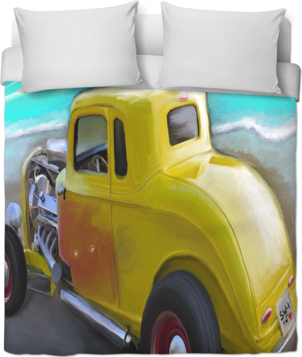 Duvet cover Yellow Classic