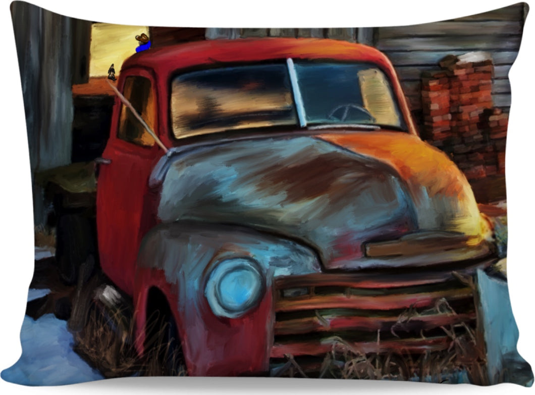 Pillow cases Rusty Truck101