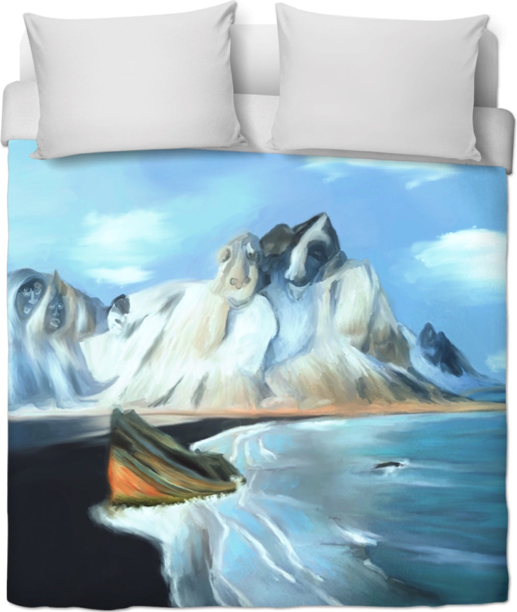 Duvet cover Abstract Artic