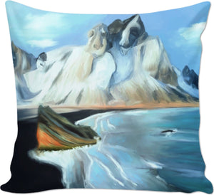 Couch pillow Abstract Artic