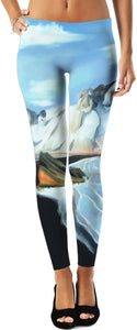 Leggings Abstract Artic