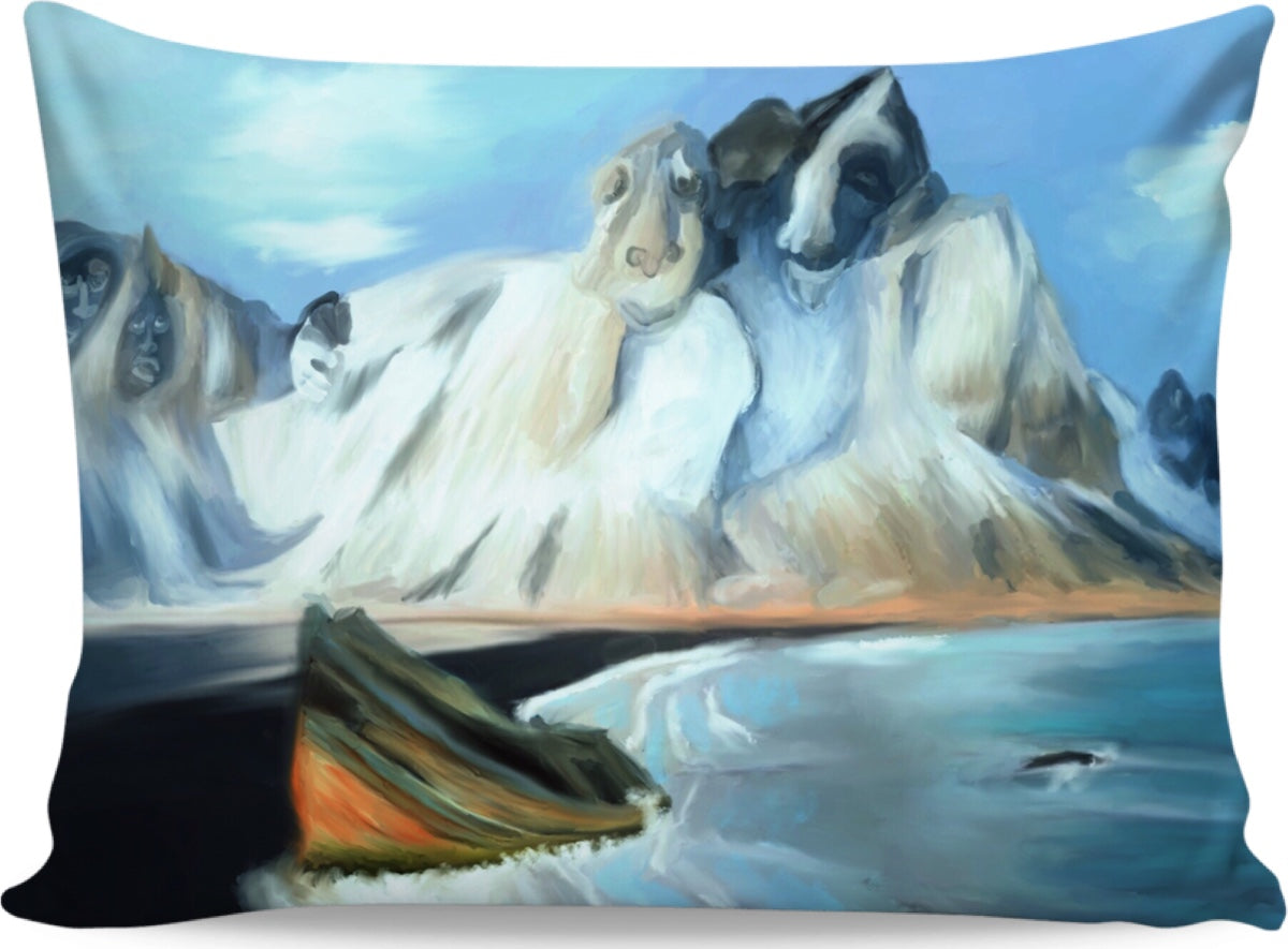 Pillow cases Abstract Artic8