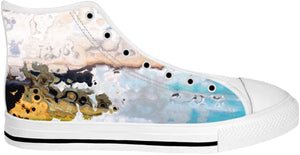 High top shoes Abstract Collection26