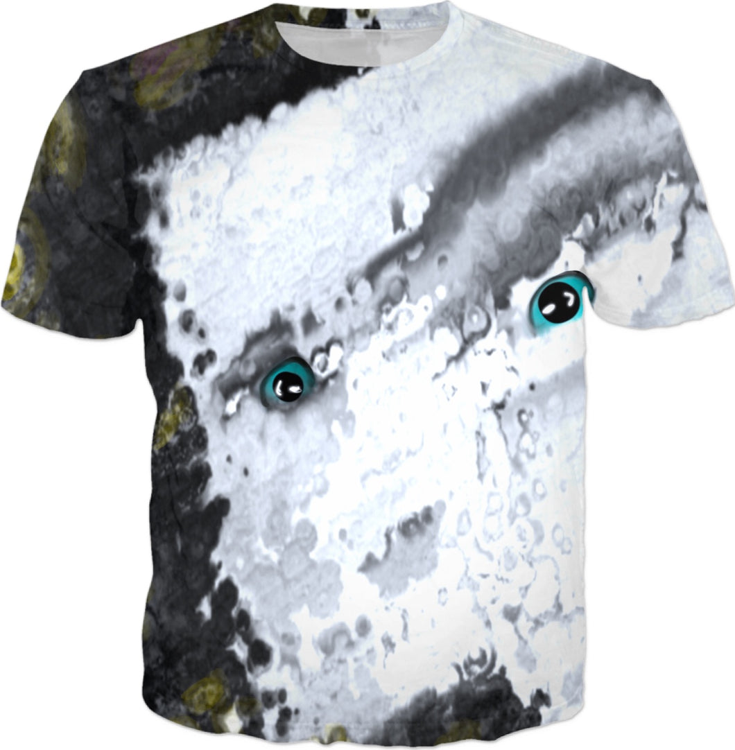 T-shirts Abstract Face