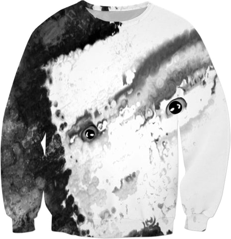 Sweatshirts Abstract Face2