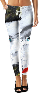 Leggings Abstract Face/eyes