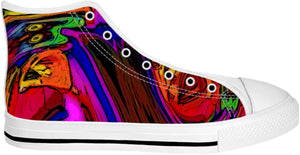 High Top Shoes Abstract Collection20