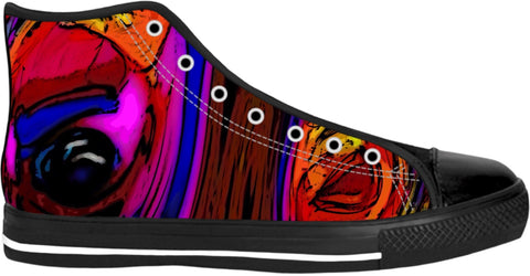 High Top Shoes Abstract Collection19