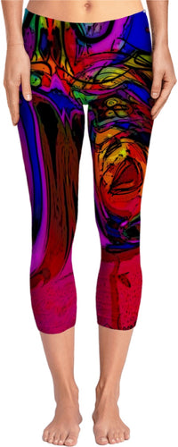 Yoga pants Abstract Collection 8