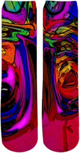 Crew Socks Abstract Collection11