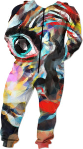 Onesies Abstract Face1