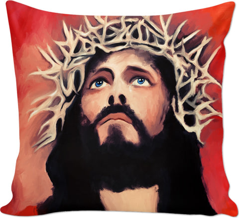 Couch pillow Jesus