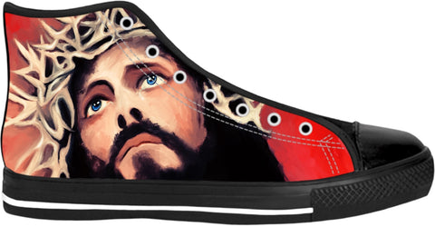High Top Shoes Jesus