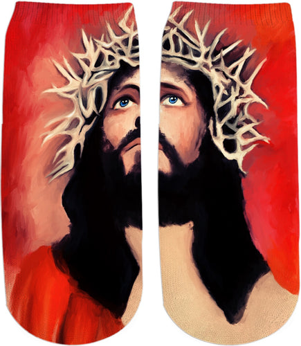 Ankle socks Jesus