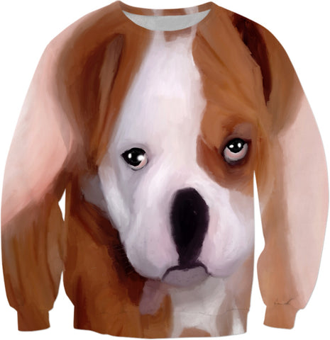Sweatshirts Puppy Sad Eyes