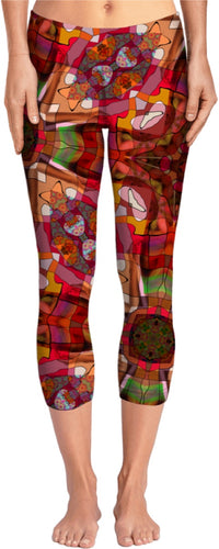 Yoga pants Abstract Collection 7