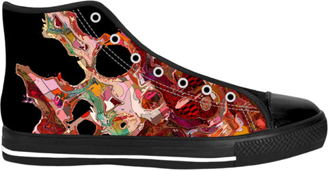 High Top Shoes Abstract Collection23