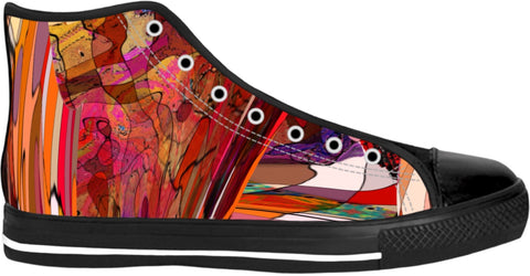High top shoes Abstract Collection22