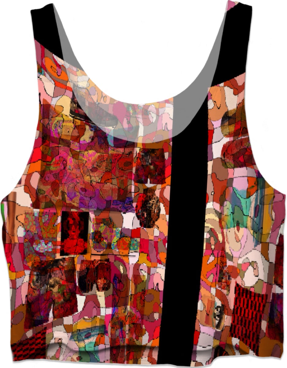 Crop Top Abstract Collection7