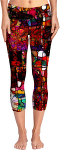 Yoga pants Abstract Collection 9