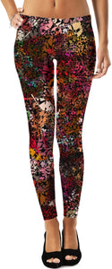 Leggings Abstract Collection Dark colors