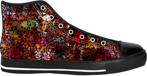 High Top Shoes Abstract Collection28